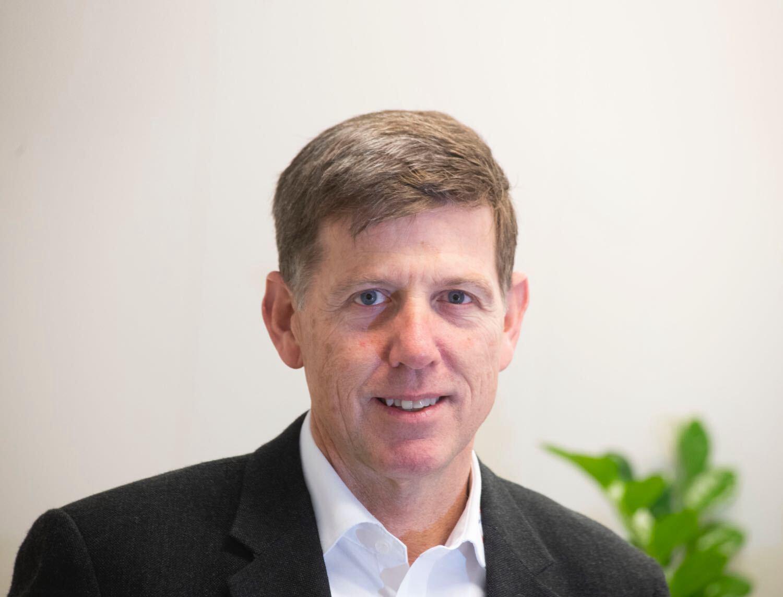 Algemeen directeur Angus Haslett