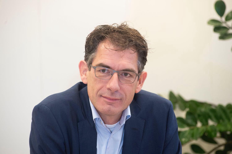Financieel directeur Egon Verheijden